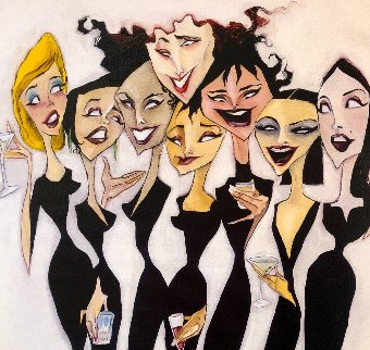 Girl Party 2002 Limited Edition Print by Todd White