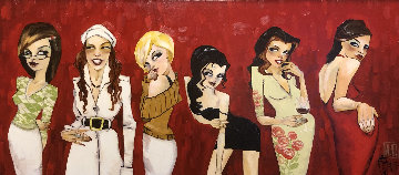My Heaven And Hell 2007 Embellished 19x43 Super Huge  Limited Edition Print - Todd White