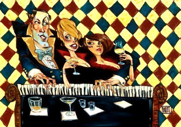 Who's Glamouring Who 2016 Limited Edition Print by Todd White