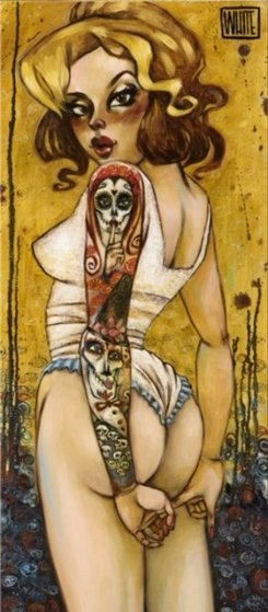 Tainted Love Embellished Limited Edition Print by Todd White