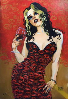 Lovesick At First Fond Song Embellished Limited Edition Print - Todd White