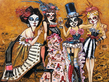 Dead Sexy  Embellished Limited Edition Print by Todd White