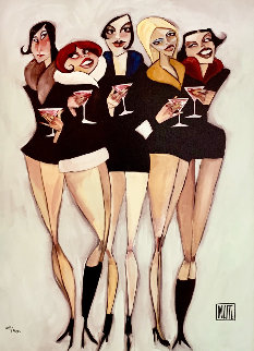 Cosmopolitan 2004 Embellished Limited Edition Print - Todd White