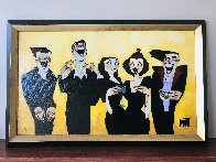 Get a Sense of Humor Embellished Limited Edition Print by Todd White - 1