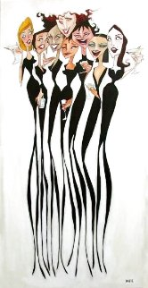 Girl Party 2002 58x12 Huge Limited Edition Print - Todd White