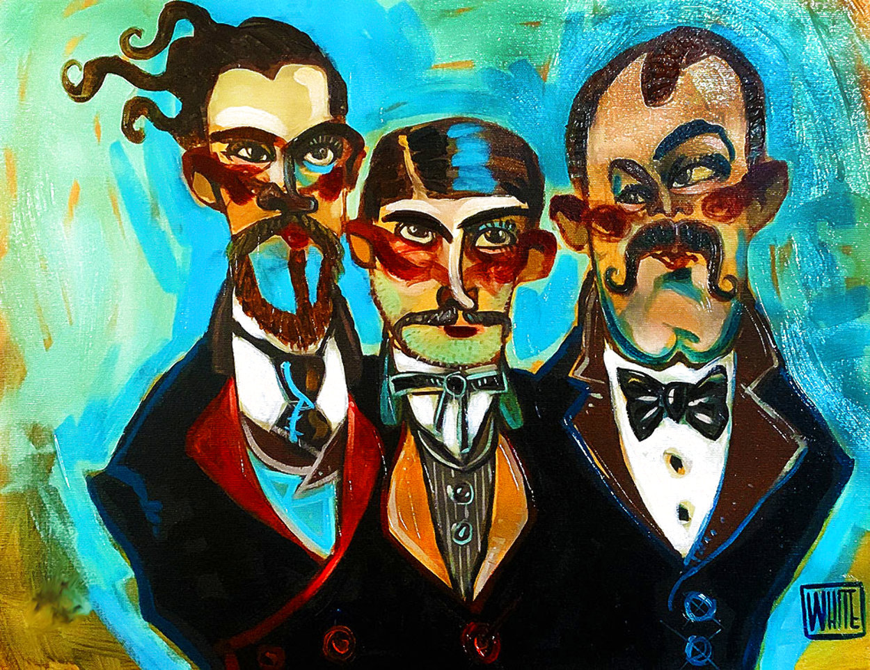 Unscrupulous 2014 Embellished Limited Edition Print by Todd White