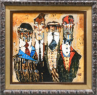 Suited For War Embellished Limited Edition Print by Todd White - 1