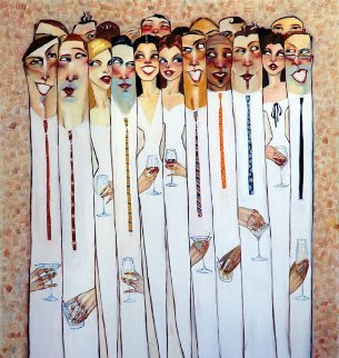 Matchbook Dating 2009 Embellished  Limited Edition Print by Todd White