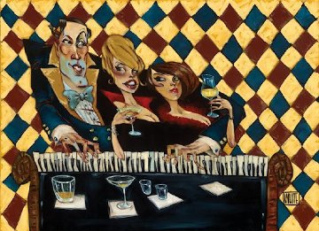 Who's Glamouring Who 2013 Embellished Limited Edition Print by Todd White