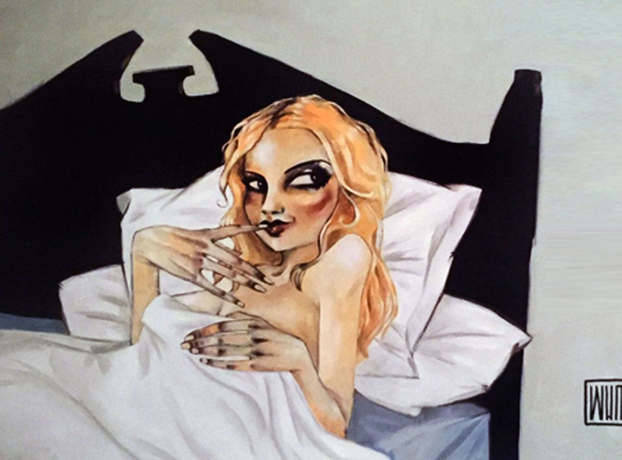 She Never Sleeps Alone 2005 Limited Edition Print by Todd White