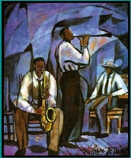 Jammin 1991 Limited Edition Print by William Tolliver