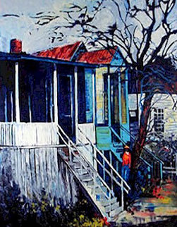 House on Pearl Street 2000 Limited Edition Print - William Tolliver
