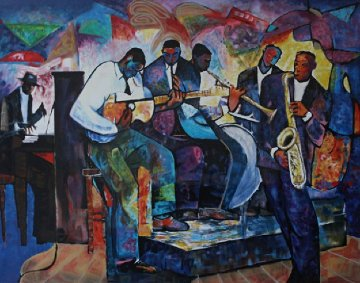Big Band 2000 Limited Edition Print by William Tolliver