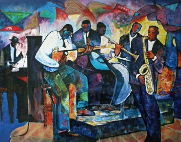 Big Band 1992 Limited Edition Print by William Tolliver