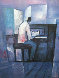 Piano  Player 1994 Limited Edition Print by William Tolliver - 0