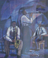 Jammin' 1991 Limited Edition Print by William Tolliver - 0