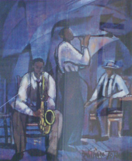 Jammin' 1991 Limited Edition Print by William Tolliver