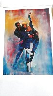 Dancers Limited Edition Print by William Tolliver - 1