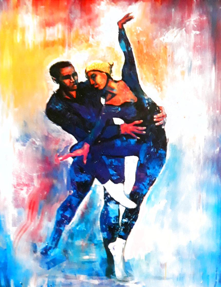 Dancers Limited Edition Print by William Tolliver