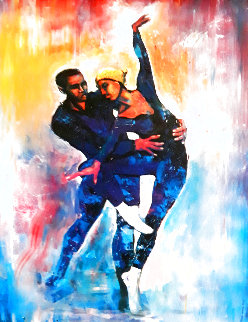 Dancers Limited Edition Print - William Tolliver