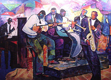 Big Band AP 1992 Limited Edition Print by William Tolliver