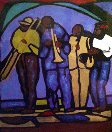 Jazz Emotions I Limited Edition Print by William Tolliver