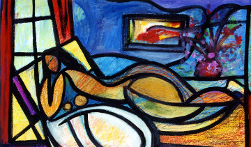 Nude in Solitude Limited Edition Print by William Tolliver
