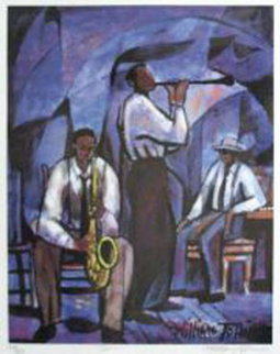 Jammin 1996 Limited Edition Print by William Tolliver