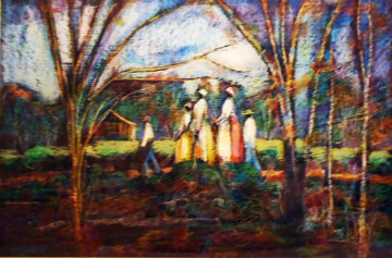 Walk to Church Limited Edition Print by William Tolliver