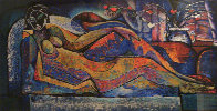 Reclining Nude 1992 Limited Edition Print by William Tolliver - 0