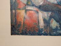 Untitled (Field Workers) 36x24 Original Painting by William Tolliver - 5