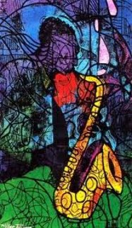 Sax Limited Edition Print by William Tolliver
