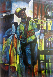 Learning to Play 1996 Limited Edition Print - William Tolliver