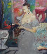 Sensuous Lady, Epoch 1993 50x38 Original Painting by William Tolliver - 0