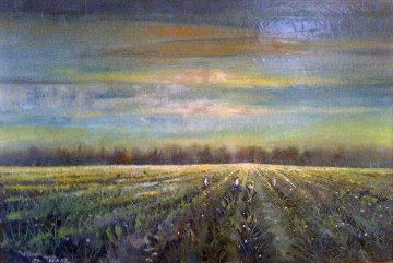 Perifields 1987 27x39 Original Painting by William Tolliver