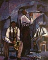 Jammin  1989 Limited Edition Print by William Tolliver - 0