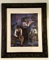 Jammin  1989 Limited Edition Print by William Tolliver - 1