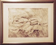 Reclining Nude 1991 Limited Edition Print by William Tolliver - 1