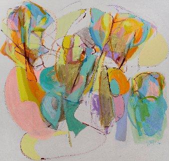 Epiphany 2019 67x71 Original Painting - Gabriela Tolomei