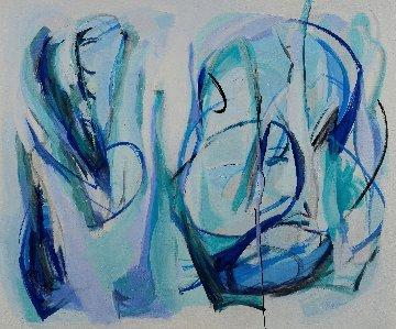 Vacuity 2020 46x54 Super Huge Original Painting - Gabriela Tolomei