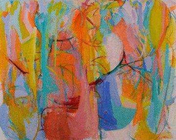 Celestial Love 2019 53x65 Original Painting - Gabriela Tolomei
