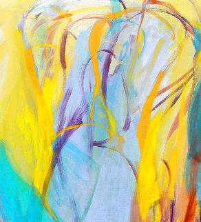 Acquired Wisdom 2015 68x56 Original Painting - Gabriela Tolomei