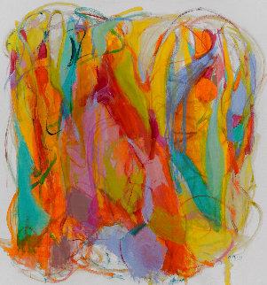 Ludica Divinity 2016 56x52 Super Huge Original Painting - Gabriela Tolomei