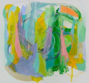 Silent Heart 2016 57x61 Super Huge Original Painting - Gabriela Tolomei