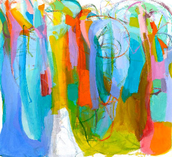 Welcome 2016 58x63 Original Painting by Gabriela Tolomei