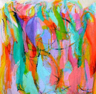 Dance 2016 50x50 Original Painting - Gabriela Tolomei