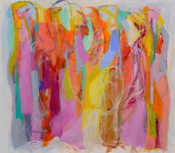 Illuminated 2016 52x57 Super Huge Original Painting - Gabriela Tolomei