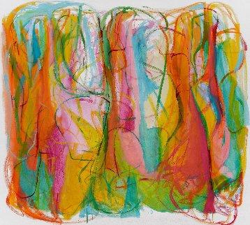 Eternity of Her 2016 57x61 Super Huge Original Painting - Gabriela Tolomei