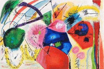 Joy 2009 31x47 Original Painting - Gabriela Tolomei