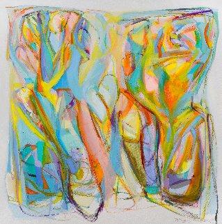 Código Florecer 2021 48x51 Huge Original Painting - Gabriela Tolomei